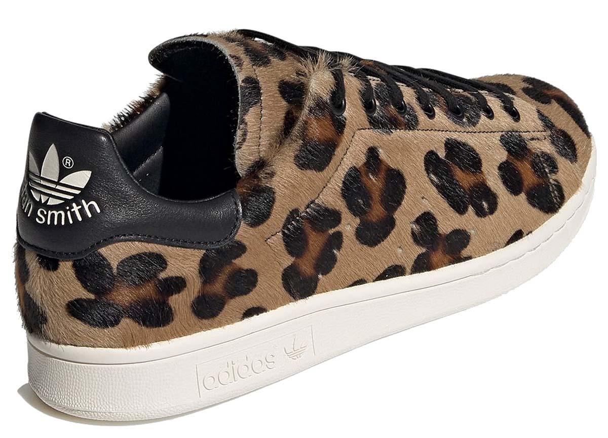 adidas Originals STAN SMITH RECON Leopard COREBLACK / COREBLACK / CHALK WHITE FZ5466 アディダス オリジナルス スタンスミス リコン レオパード ブラック/ブラウン/オフホワイト