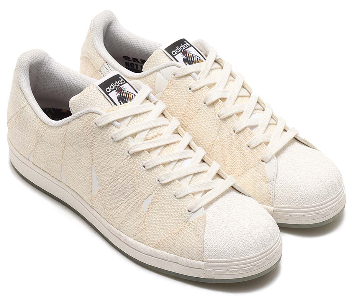 adidas SUPERSTAR 50 CLN MUMMY CORE WHITE / FOOTWEAR WHITE / GOLD METALLIC G55618 アディダス スーパースター 50 ミイラ男 ホワイト/ゴールド