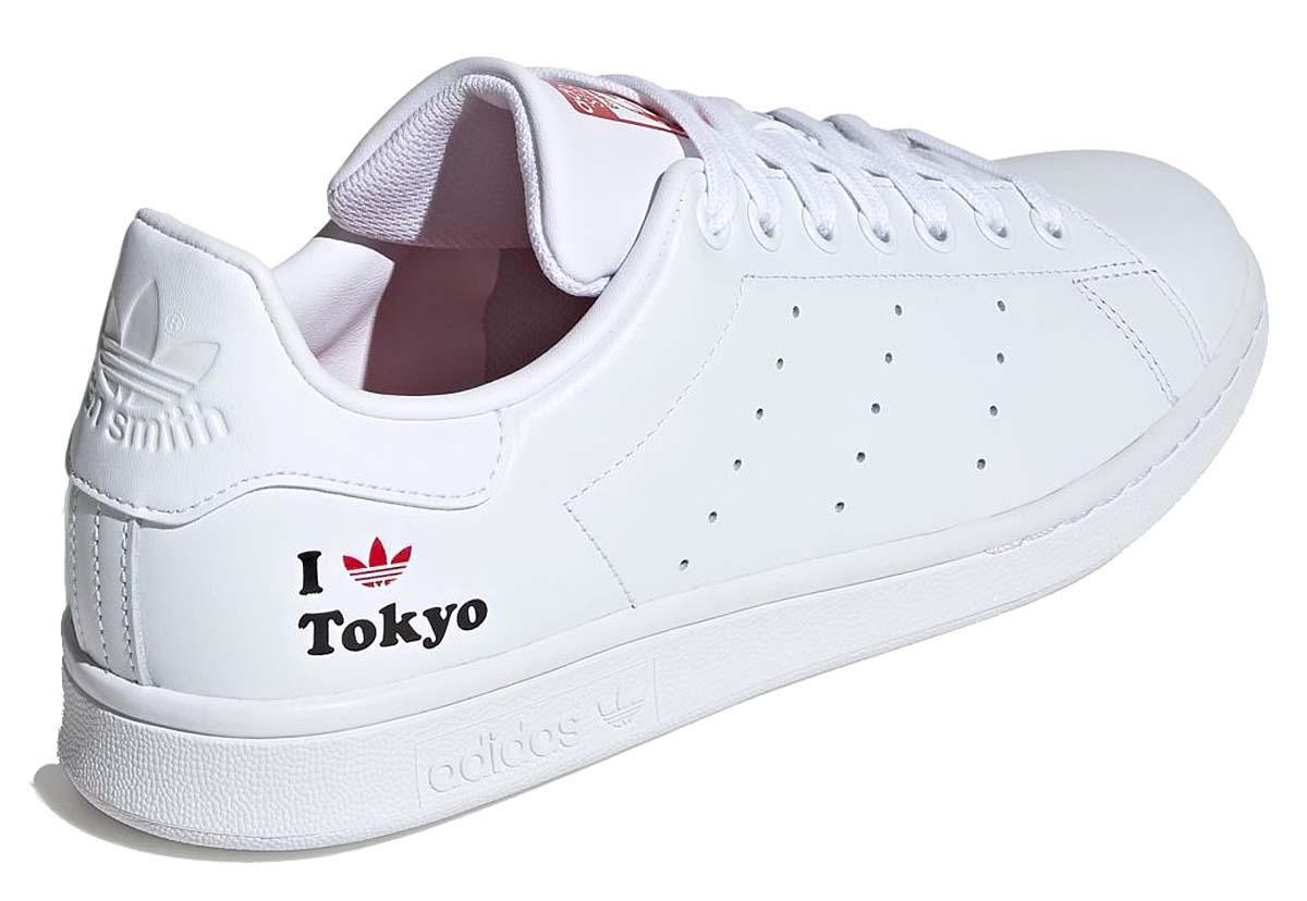 adidas Originals STAN SMITH FOOTWEARWHITE / SCARLET / CORE BLACK H67743 アディダス オリジナルス スタンスミス フットウェアホワイト/スカーレット/コアブラック