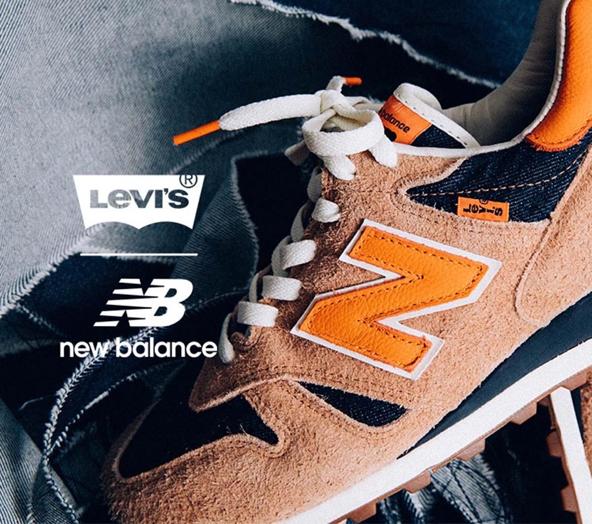 Levi's x New Balance M1300CL INDIGO / ORANGE リーバイス × ニューバランス M1300CL インディゴ/オレンジ
