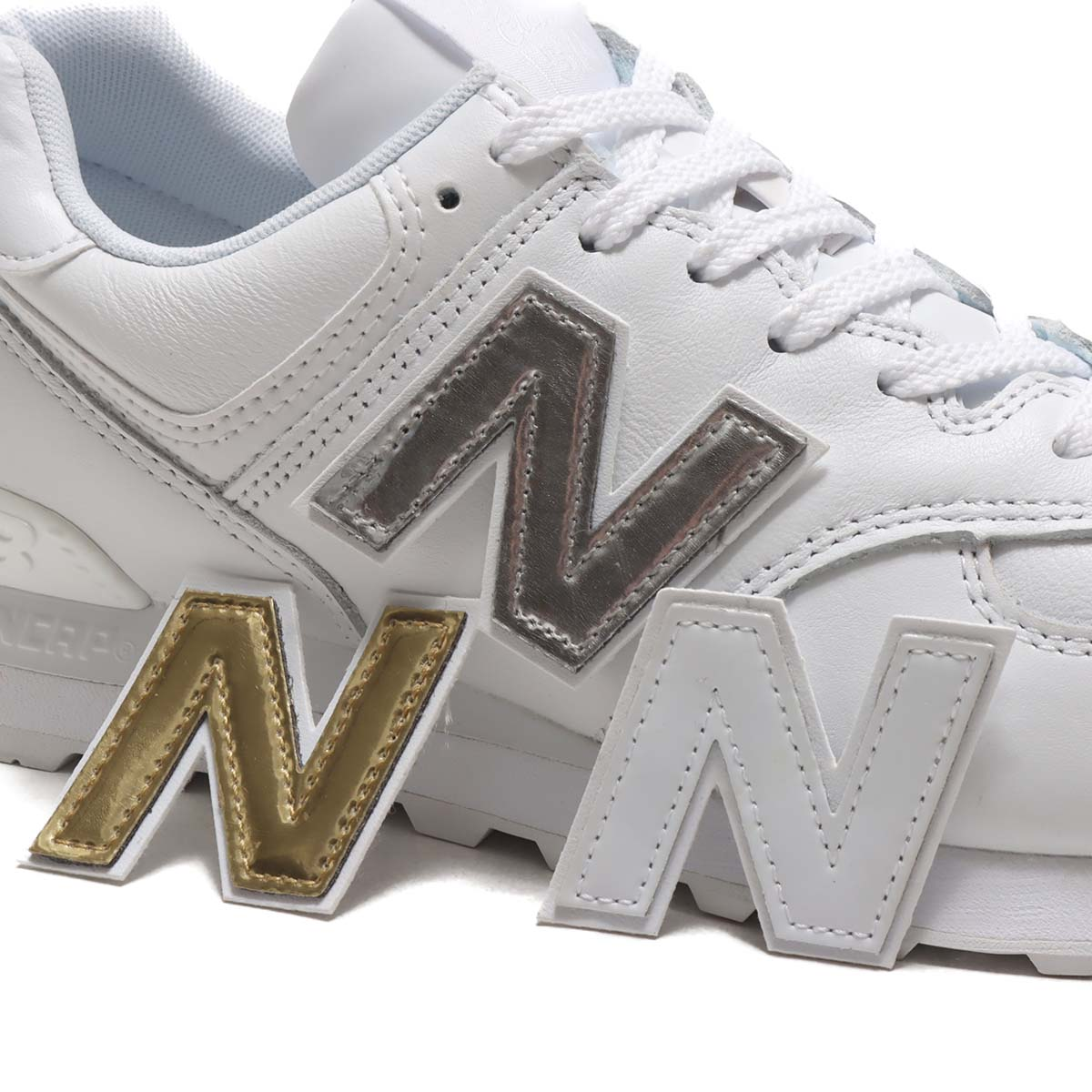 new balance ML574 NJ WHITE