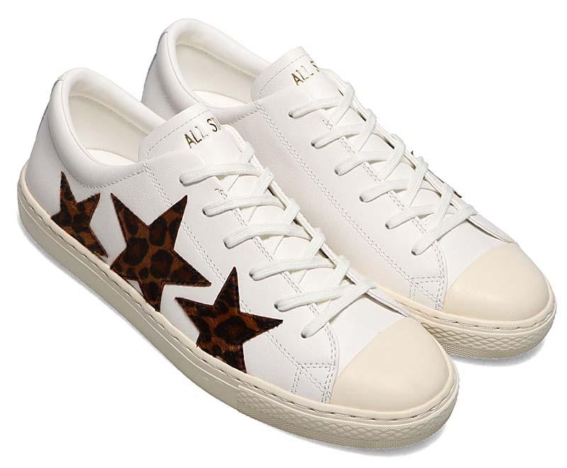 CONVERSE ALL STAR COUPE TRIOSTAR LP OX [WHITE / LEOPARD] 31304951 コンバース オールスター クップ トリオスター LP OX ホワイト/レオパード