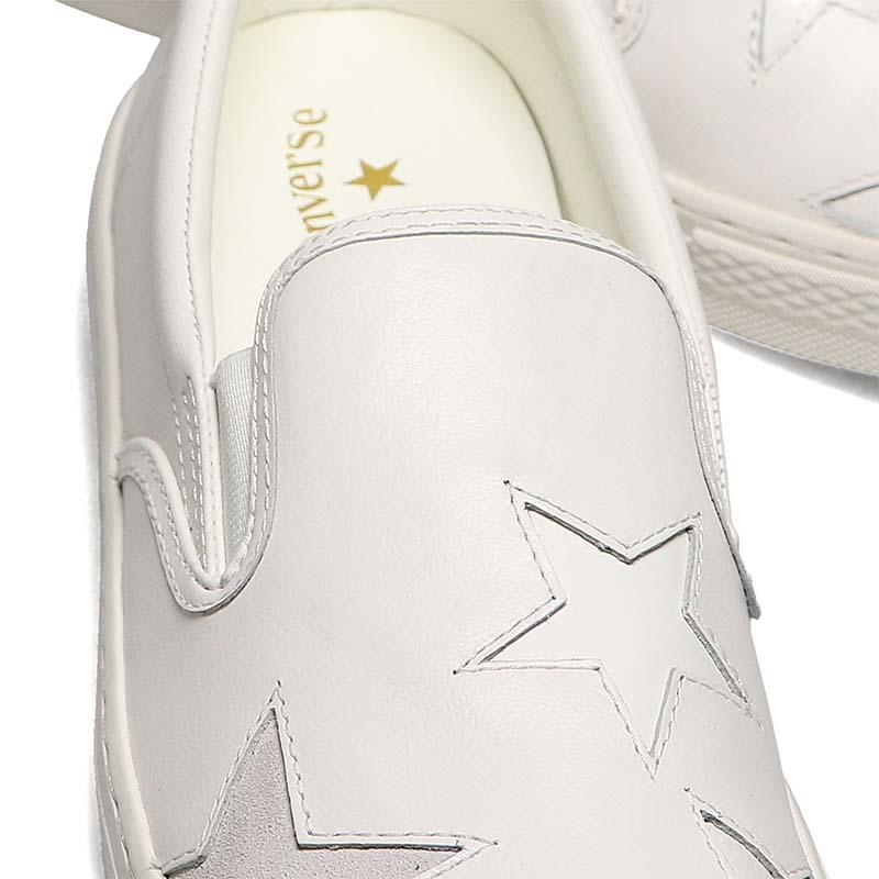 CONVERSE ALL STAR COUPE TRIOSTAR SLIP-ON [WHITE] 31304960 コンバース オールスター クップ トリオスター スリップオン ホワイト