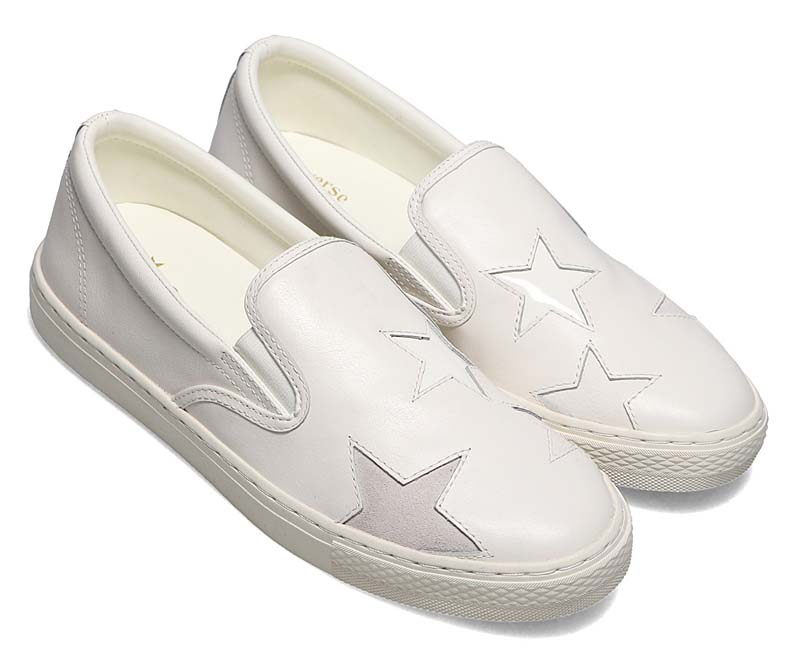 CONVERSE ALL STAR COUPE TRIOSTAR SLIP-ON WHITE 31304960 コンバース オールスター クップ トリオスター スリップオン ホワイト