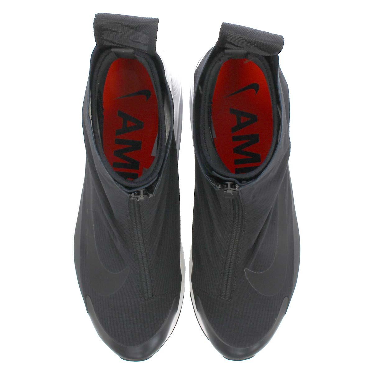 AMBUSH x NIKE AIR MAX 180 HIGH BLACK / BLACK / PALE GREY BV0145-001 アンブッシュ × ナイキ エアマックス180 ハイ ブラック/グレー