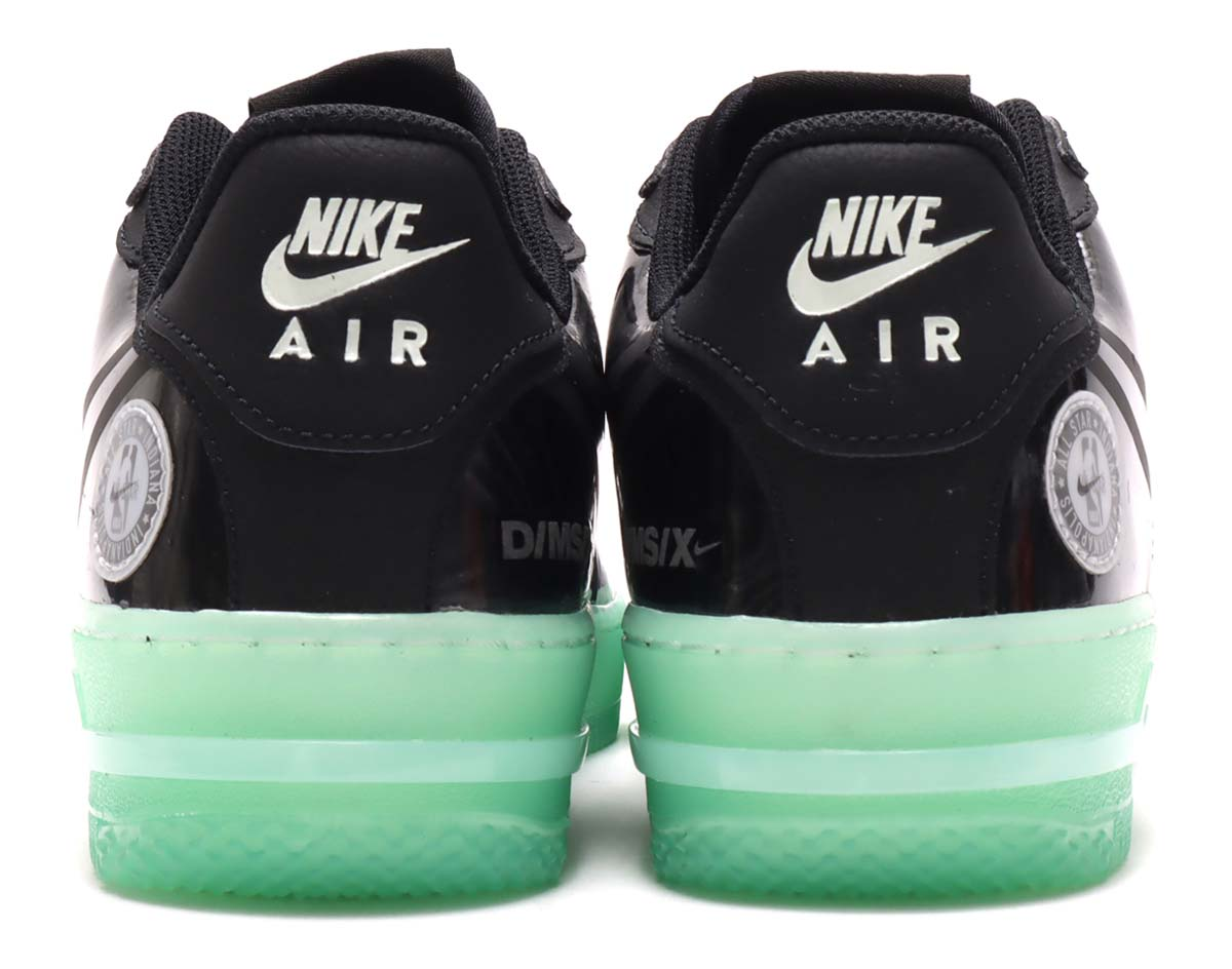 NIKE AIR FORCE 1 REACT LV8 NBA ALL-STAR 2021 BLACK / BLACK-BARELY GREEN CV2218-001 ナイキ エア フォース 1 リアクト LV8 NBAオールスター2021 ブラック/グリーン