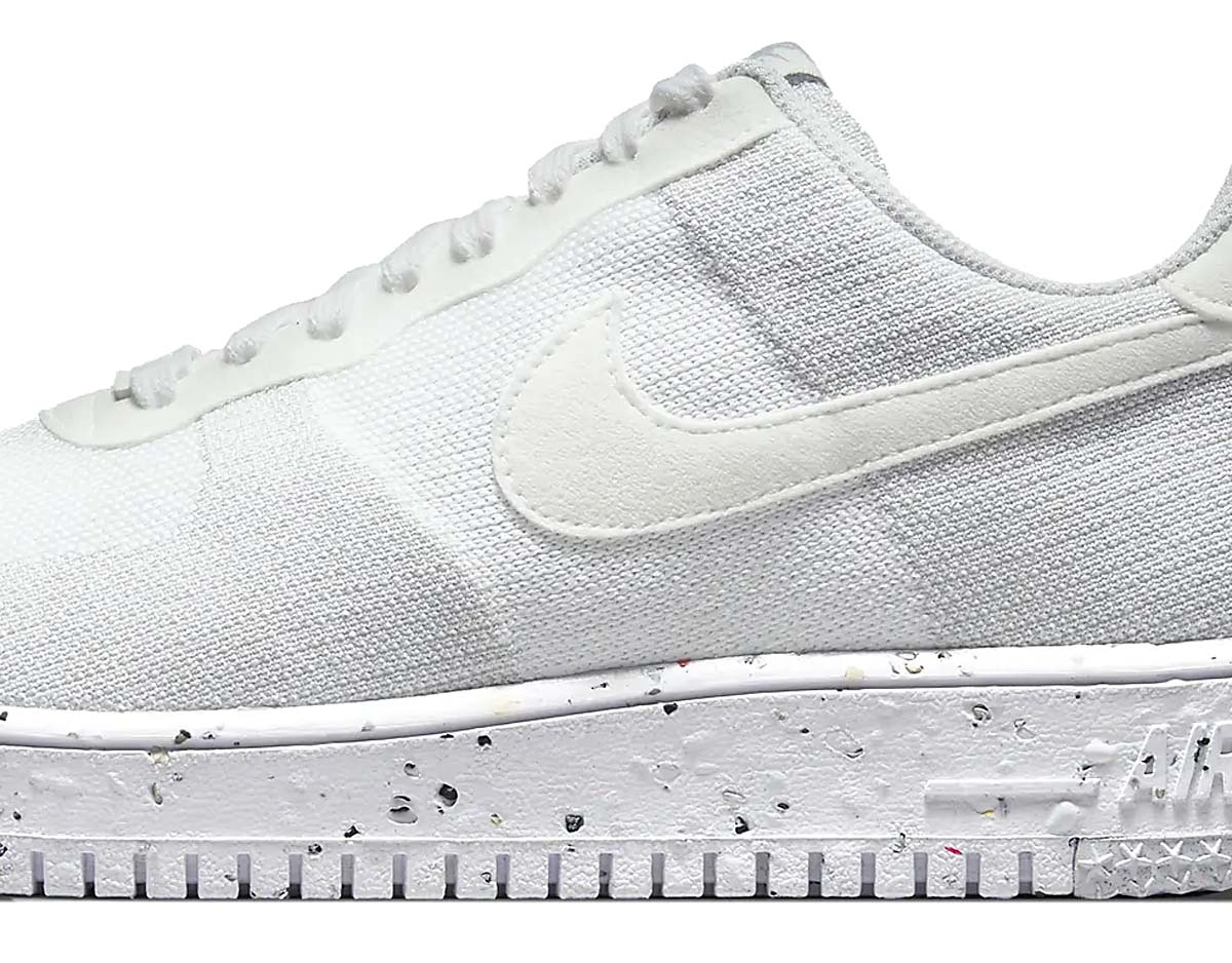 NIKE AIR FORCE 1 LOW CRATER FLYKNIT WHITE / WHITE-SAIL-WOLF GREY DC4831-100 ナイキ エアフォース1 ロー クレーター フライニット ホワイト