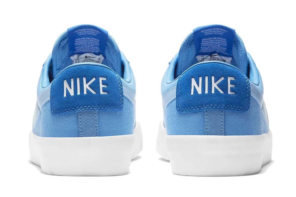NIKE SB BLAZER LOW PRO GT COAST / PSYCHIC BLUE-SIGNAL BLUE DC7695-400 ナイキ SB ズーム ブレーザー LOW プロ GT ブルー/ホワイト