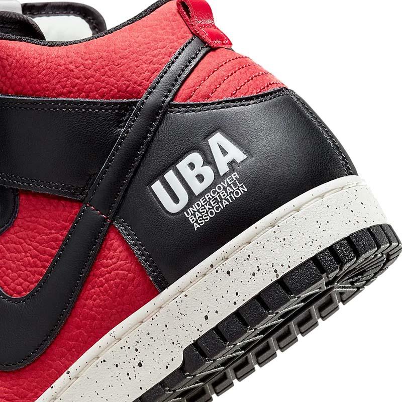 UNDERCOVER x NIKE DUNK HIGH 1985 UBA GYM RED / BLACK-WHITE DD9401-600 アンダーカバー × ナイキ ダンク ハイ 1985 UBA レッド/ブラック/ホワイト