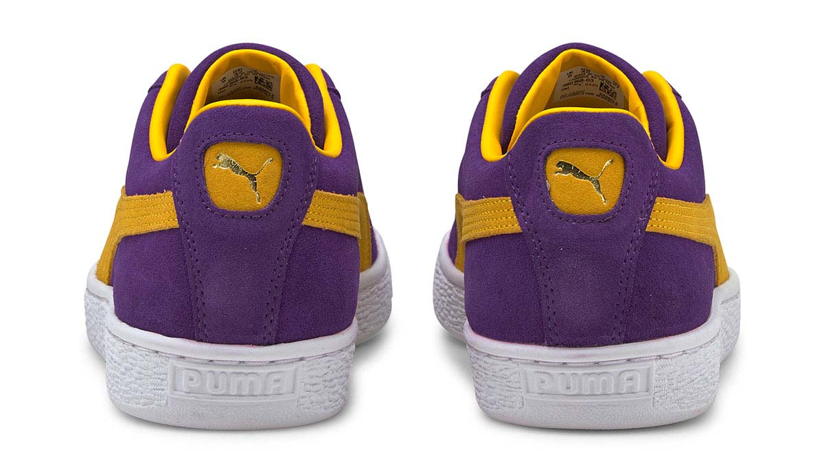 PUMA SUEDE TEAMS PRISM VIOLET-SPECTRA YELLOW プーマ スウェード チームス パープル/イエロー 380168-03