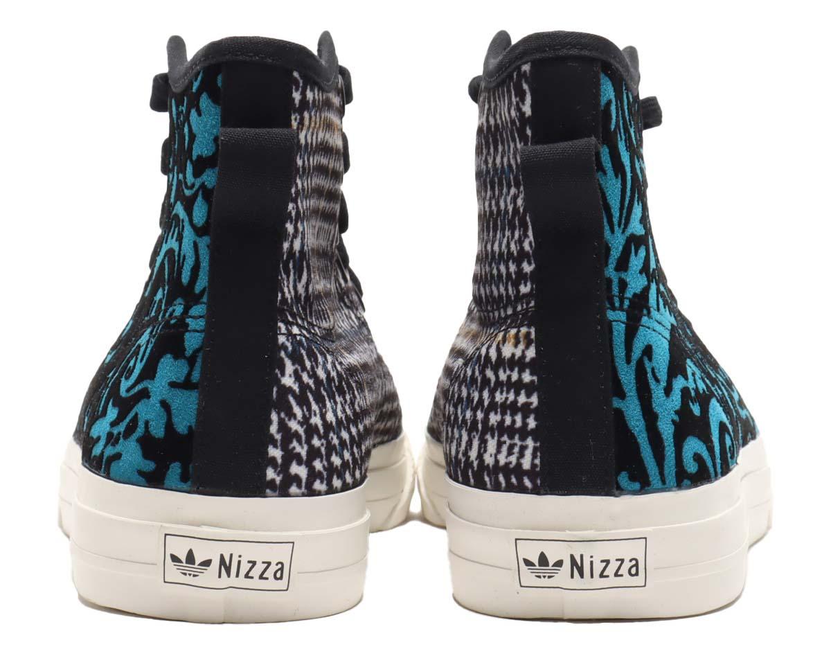 adidas NIZZA HI RF CORE BLACK / CHORK WHITE / MESA FX8498 アディダス ニッツァ ハイ RF ブラック/ブルー/ブラウン