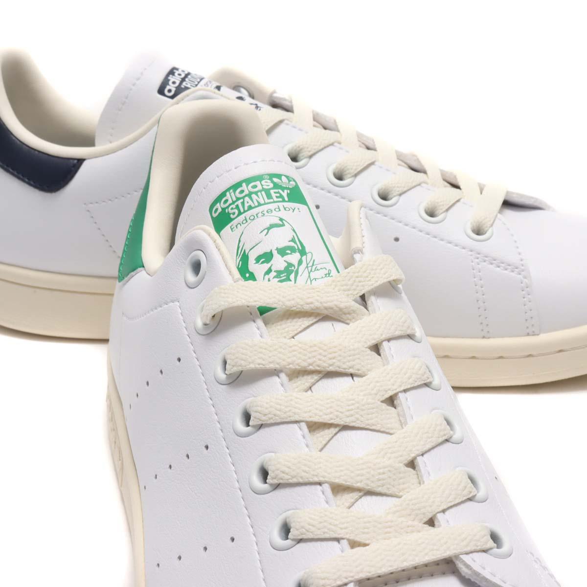 adidas STAN SMITH x Rod Laver CREAM WHITE / FOOTWEAR WHITE / COLLEGE NAVY FY1794 アディダス スタンスミス x ロッド・レーバー ホワイト/グリーン/ネイビー