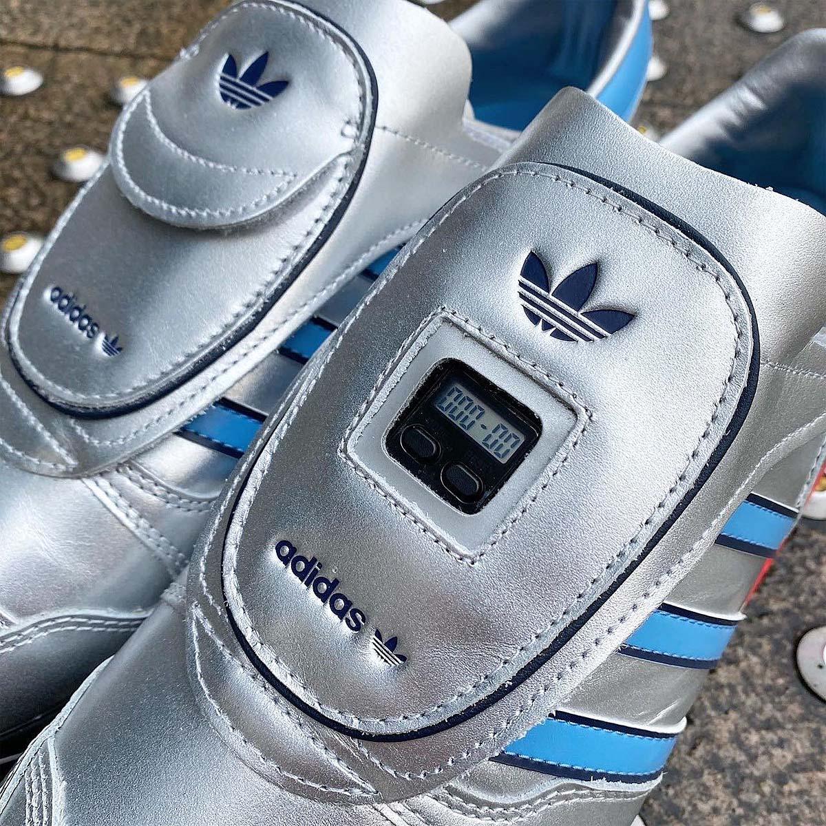 adidas MICROPACER METALLIC SILVER / METALLIC SILVER / LIGHT BLUE FY7687 アディダス マイクロペーサー メタリックシルバー/ライトブルー