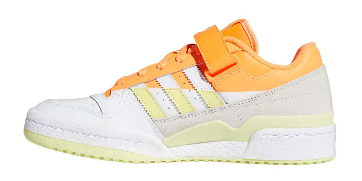adidas FORUM LOW PREMIUM SCREAMING ORANGE / YELLOWTINT / FOOTWEAR WHITE FY8020 アディダス フォーラム ロー プレミアム オレンジ/イエロー/ホワイト