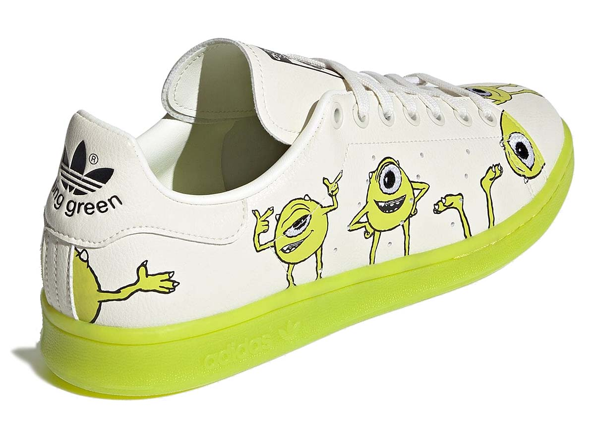 adidas STAN SMITH Michael Wazowski in Monsters, Inc. OFF WHITE / PANTONE / CORE BLACK FZ2706 アディダス スタンスミス マイク・ワゾウスキ モンスターズ・インク オフホワイト/グリーン