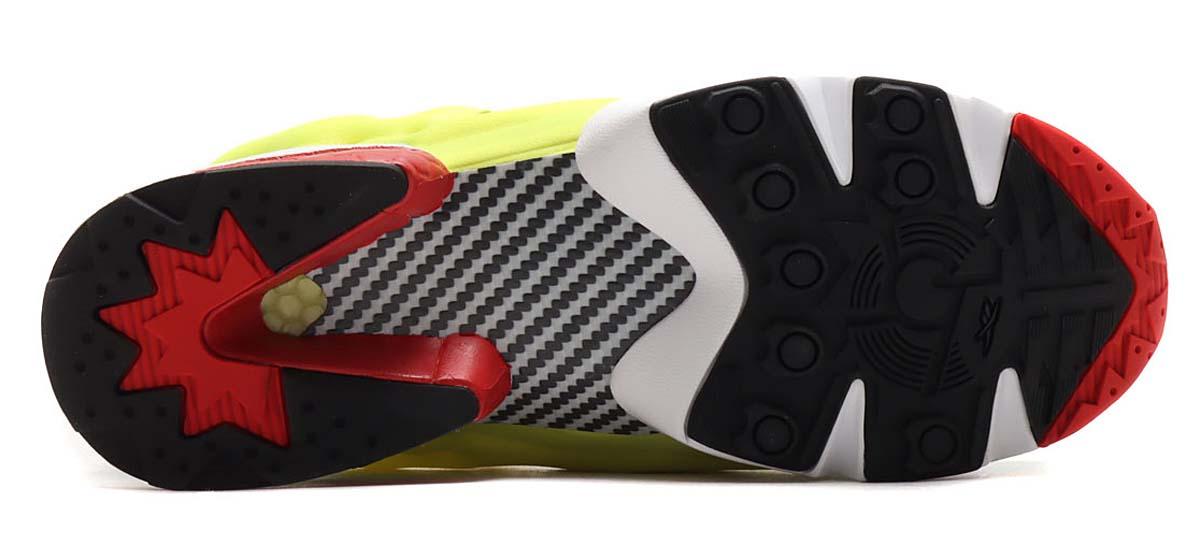 adidas x Reebok ZX FURY CORE BLACK / HYPER GREEN / REEBOK RED GZ7286 アディダス × リーボック ZX フューリー ブラック/グリーン/イエロー/レッド