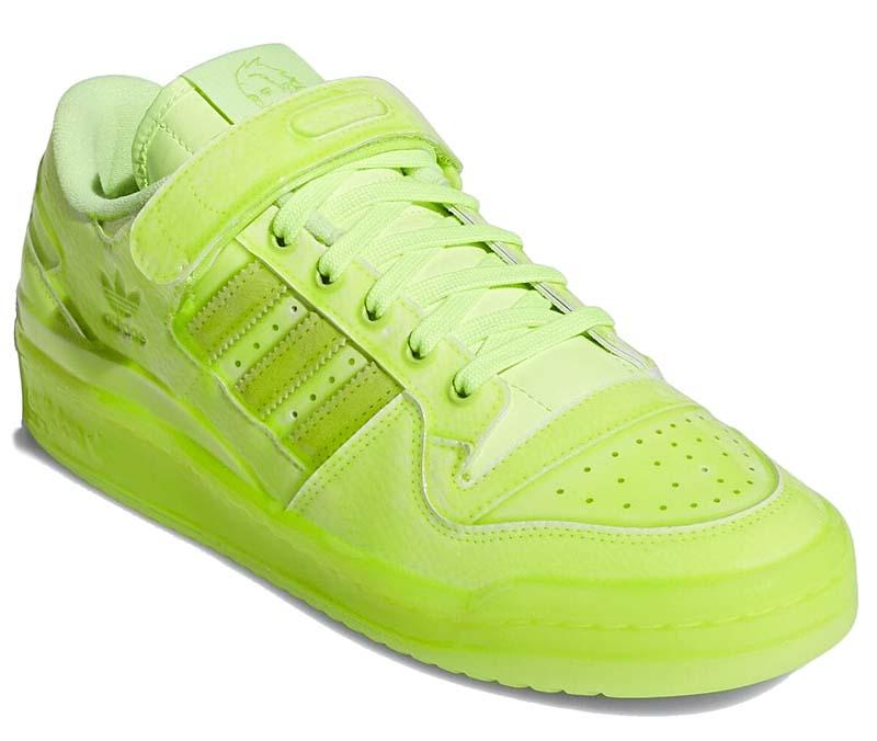 Jeremy Scott x adidas originals FORUM Dipped Low SOLAR YELLOW GZ8817 ジェレミー・スコット ✕ アディダス オリジナルス フォーラム ディップド ロー 蛍光イエロー