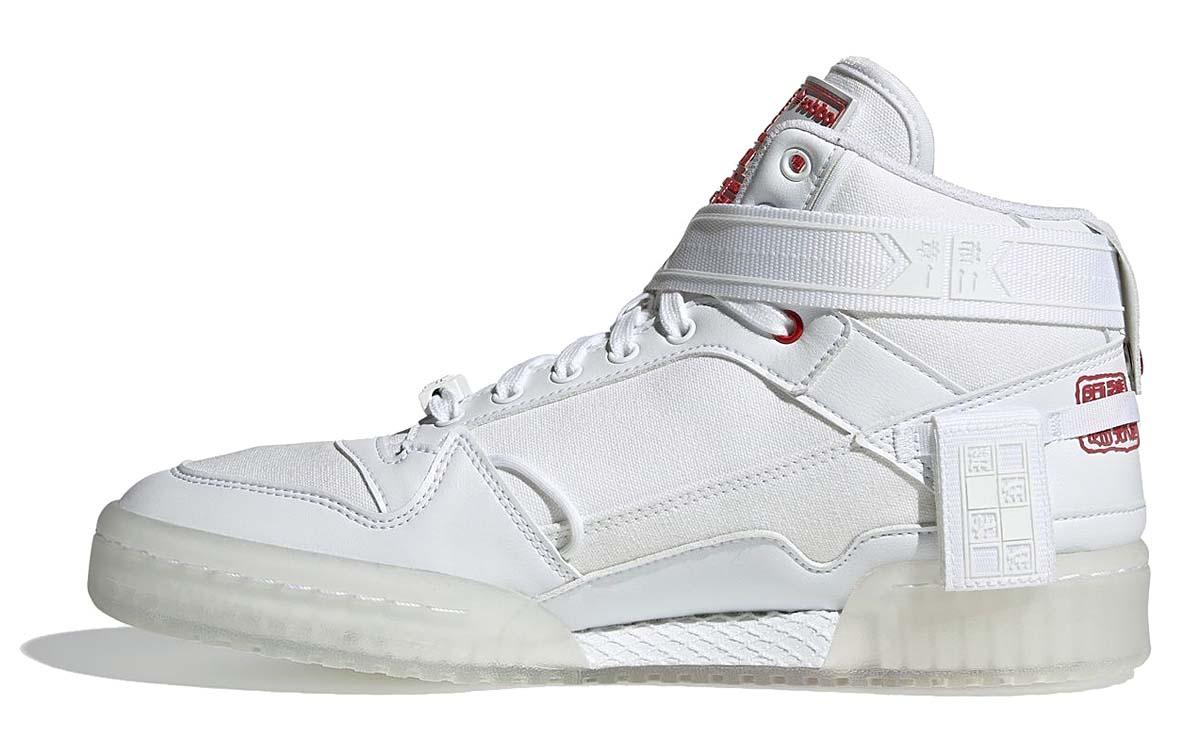 adidas FORUM COMMUNICATOR MID FOOTWEAR WHITE / FOOTWEAR WHITE / CORE BLACK GZ9031 アディダス フォーラム コミュニケーター MID ホワイト/ブラック