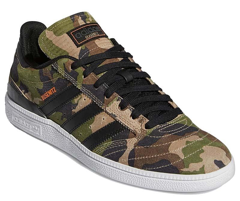 adidas SKATEBOARDING BUSENITZ FOOTWEAR WHITE / CORE BLACK / SIGNAL ORANGE H04875 アディダス スケートボーディング ブセニッツ グリーンカモフラージュ/ブラック/オレンジ