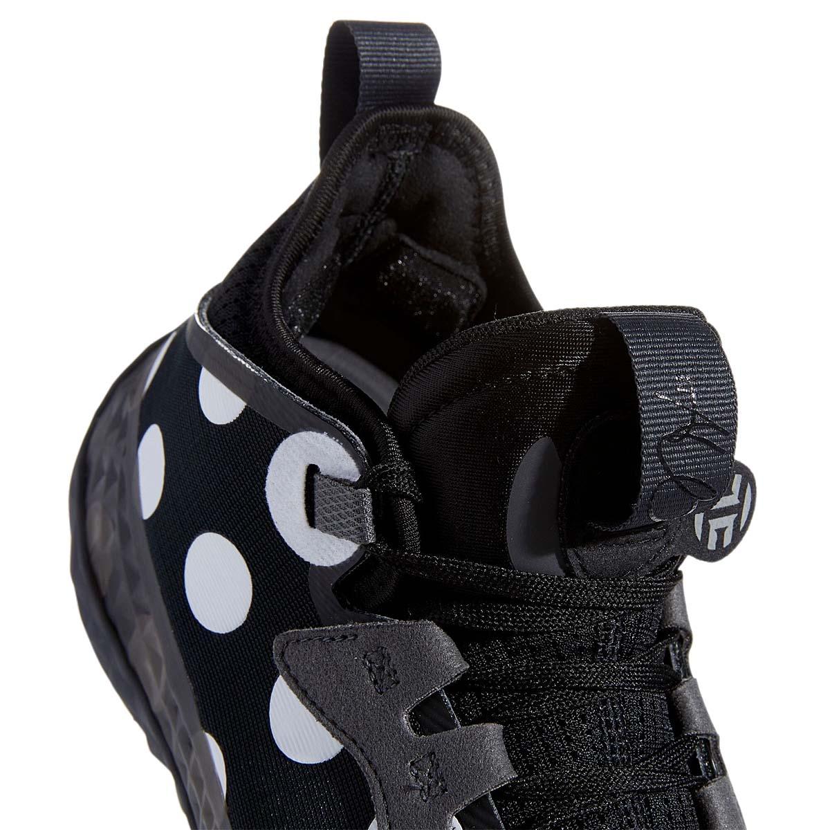 adidas HARDEN VOL. 5 FUTURENATURAL CORE BLACK / FOOTWEAR WHITE / TEAM DARK GRAY H68597 アディダス ハーデン Vol.5 フューチャーナチュラル ブラック/ホワイト