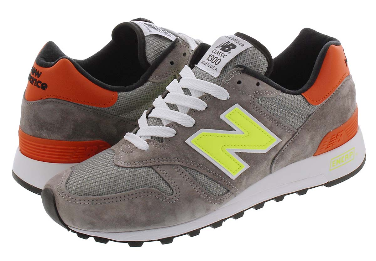 new balance M1300 PD GREY / ORANGE