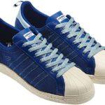 adidas ORIGINALS CLOT x Kazuki Kuraishi SUPERSTAR 80's [ROYAL/LIGHT BLUE] (G63523)