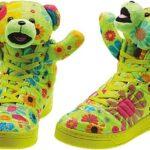 adidas OBYO JEREMY SCOTT TEDDY BEAR [FLOWER POWER] (G61076)