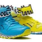 Reebok CLASSIC LEATHER MID STRAP [Keith Haring] (V44586)