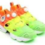 Reebok x Sneakersnstuff PUMP FURY [GREEN/YELLOW/ORANGE/WHITE] (V49184)