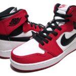 NIKE AIR JORDAN 1 RETRO AJKO RETRO HIGH [WHITE/VARSITY RED/BLACK] (638471-101)