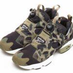 Reebok x A BATHING APE x mita sneakers INSTA PUMP FURY OG [CAMO/WHT] (V61765)
