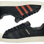 adidas Originals SUPERSTAR 80s [CORE BLACK / GREEN / RED] (cq2656)