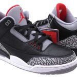 NIKE AIR JORDAN 3 RETRO OG [BLACK / FIRE RED-CEMENT GREY] (854262-001)