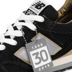 ニューバランス ML996EK 30周年記念モデル 「ブラック/ゴールド」