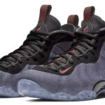 NIKE AIR FOAMPOSITE ONE [OBSIDIAN / BLACK-UNIVERSITY RED] (314996-404)