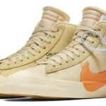 NIKE x Virgil Abloh (OFF-WHITE) BLAZER MID THE TEN [CANVAS / TOTAL ORANGE] (aa3832-700)