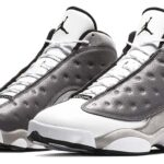 NIKE AIR JORDAN 13 [ATMOSPHERE GREY / WHITE-UNIVERSITY RED-BLACK] (414571-016)