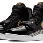 NIKE AIR JORDAN LEGACY 312 [BLACK/METALLIC GOLD] (AV3922-007)