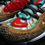 "NIKE AIR MAX 98 "" CHINESE NEW YEAR "" [WHEAT / METALLIC GOLD / BLACK] (BV6649-708)"