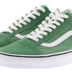 VANS UA OLD SKOOL [DEEP GRASS GREEN/TRUE WHITE] (VN0A38G1UKV)