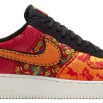 "NIKE AIR FORCE 1 07 PRM 3 ""CHINESE NEW YEAR""[GYM RED/ORNG PL-BLACK-CNYN GLD] (AT4144-601)"