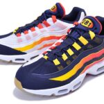 "NIKE AIR MAX 95 ""HOUSTON AWAY"" [BLACKEND BLUE/BLACKEND BLUE] (AV7939-400)"
