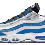 NIKE AIR MAX 95 ESSENTIAL [PHT BLUE / BLACK-WHITE-RFLCT SILVER] (749766-409)