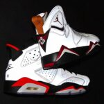 "NIKE AIR JORDAN 6 ""REFLECTIONS OF A CHAMPION"" [REFLECT SILVER / BLACK-INFRARED] (CI4072-001)"