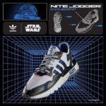 アディダス オリジナルス ナイトジョガー スターウォーズ R2-D2 「ホワイト/ブルー/シルバー」 (FV8040)