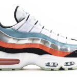 NIKE AIR MAX 95 ALIEN [WHITE / BLACK / CERULEAN / MAGIC EMBER] (CW5451-100)