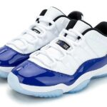 NIKE AIR JORDAN 11 LOW RETRO [WHITE / BLACK-CONCORD] (AH7860-100)