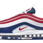NIKE AIR MAX 97 [WHITE / NAVY / UNIVERSITY RED] (CW5584-100)
