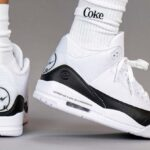 FRAGMENT DESIGN x NIKE AIR JORDAN 3 RETRO [WHITE / BLACK-WHITE] (DA3595-100)