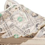 JEREMY SCOTT x adidas JS FORUM MONEY LO [CLEAR BROWN / OFF WHITE / CLEAR BROWN] (GX6393)
